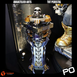 Avaultelier Arts - Thanos on Throne Pedestal