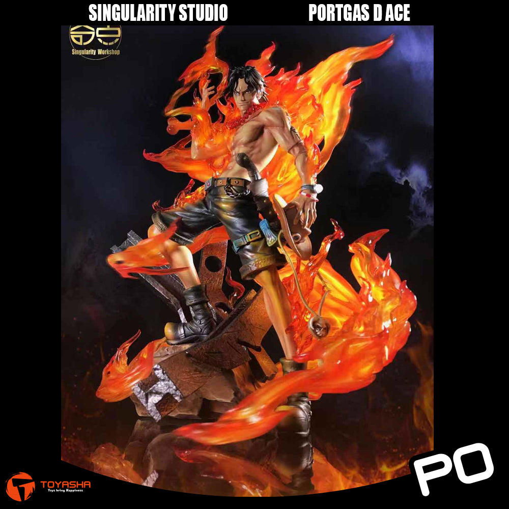 Singularity Studio - Portgas D Ace