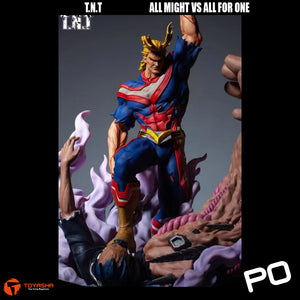 T.N.T - All Might vs All For One