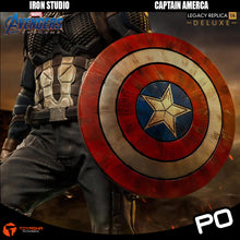 Load image into Gallery viewer, Iron Studio - Captain America Deluxe Legacy Replica 1/4 - Avengers: Endgame
