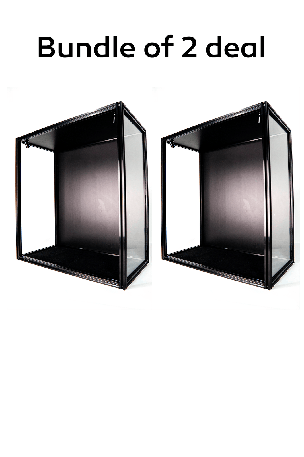 ModuCase - Bundle of 2 DF30 Display Cube – L60 D32 H65 CM