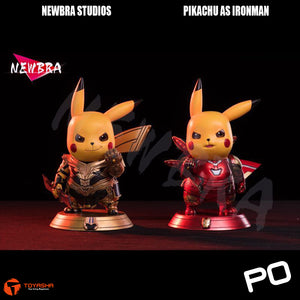 Newbra Studio - Pikachu as Thanos