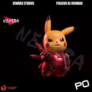 Newbra Studio - Pikachu as Ironman Mark 85