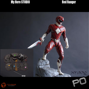 My Hero Studio - Red Ranger 1/4 Scale