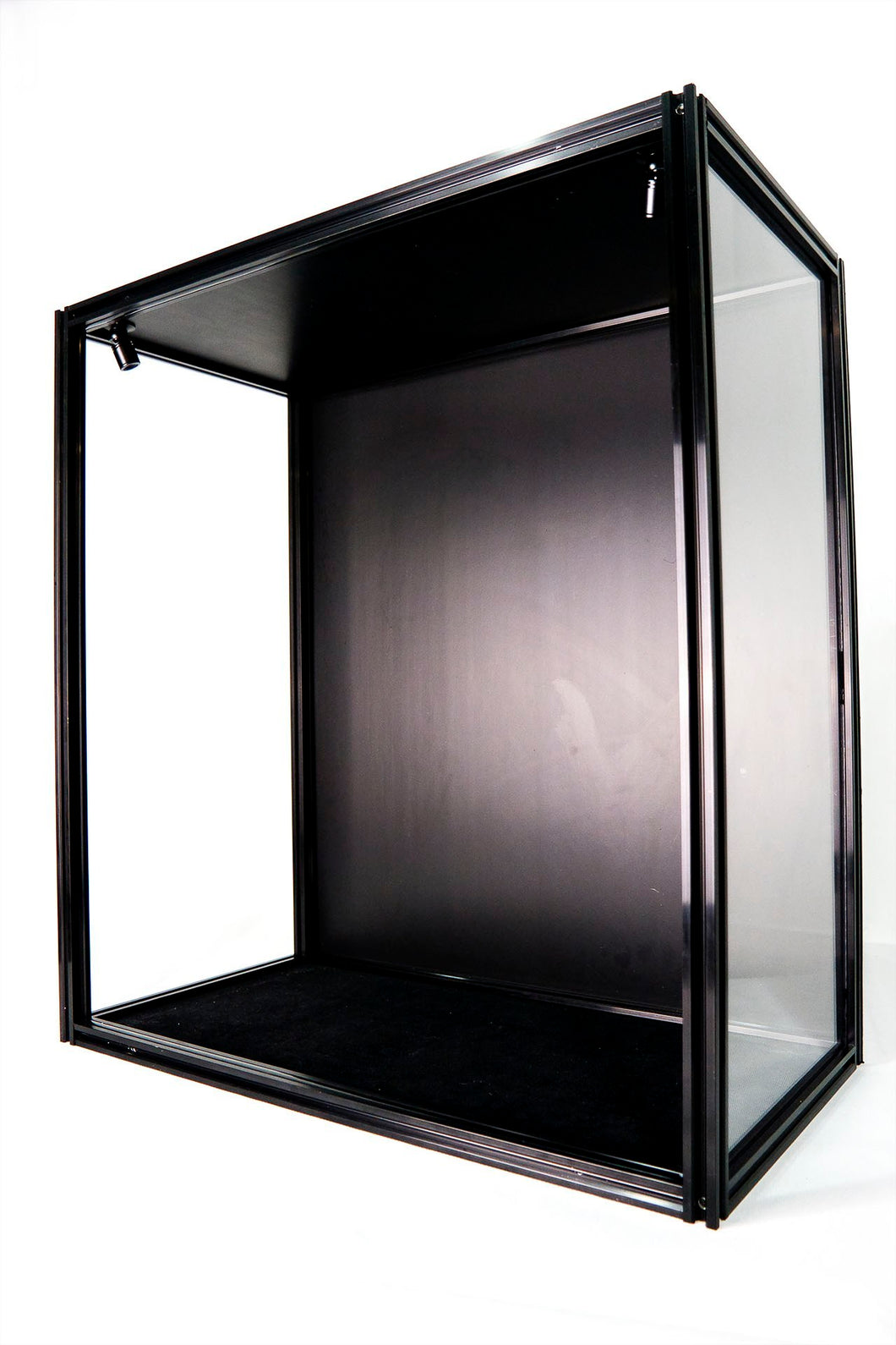 "ModuCase - DF30 Display Case – L60 D32 H65 CM (L23.6"" D12.5″ H25.6″)"