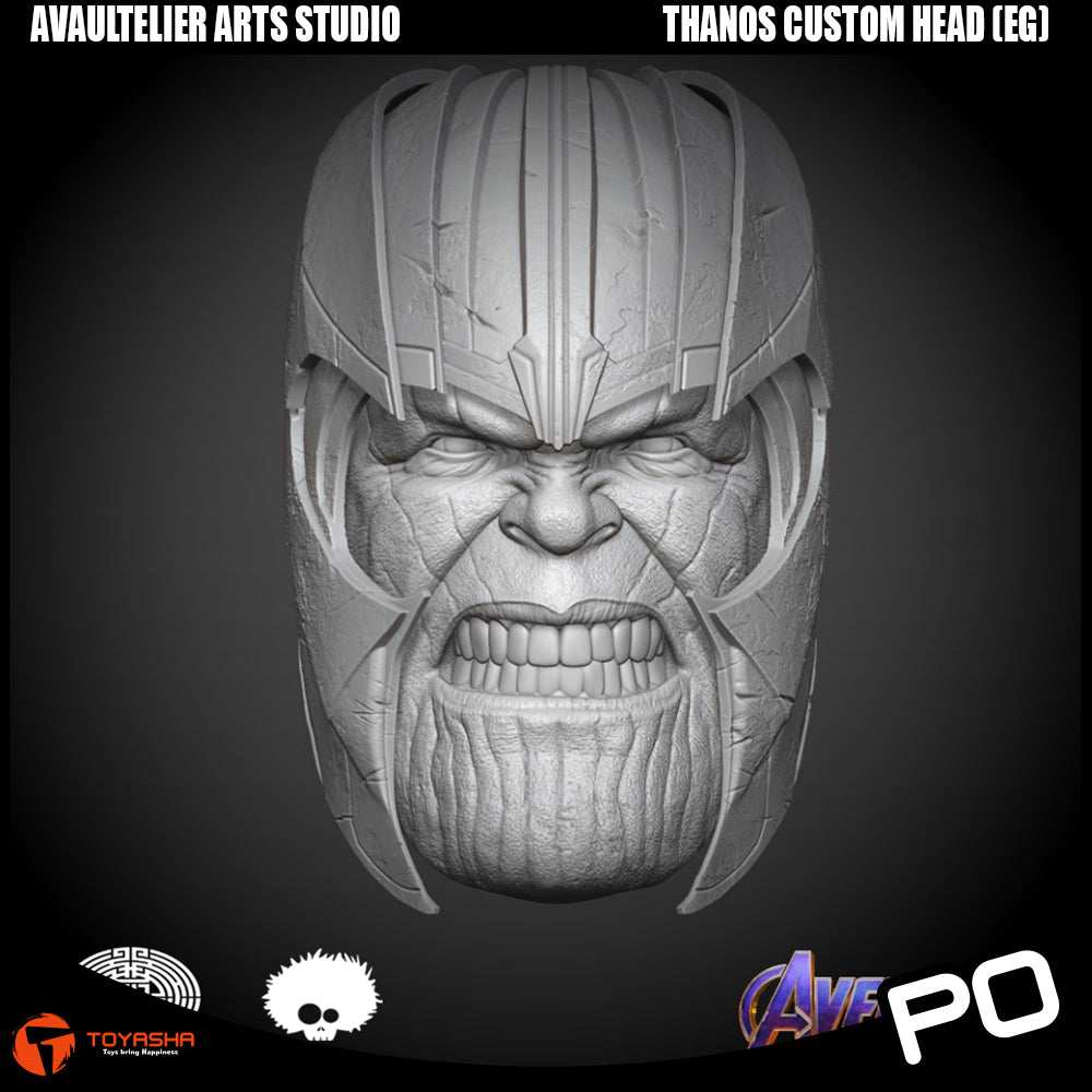 Avaultelier Arts Studio - Thanos Custom Head (Endgame Version)