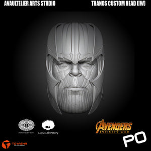 Avaultelier Arts Studio - Thanos Custom Head (Infinity War Version)