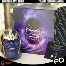 Load image into Gallery viewer, Avaultelier Arts Studio - Thanos Custom Head (Guardians of Galaxy Version)