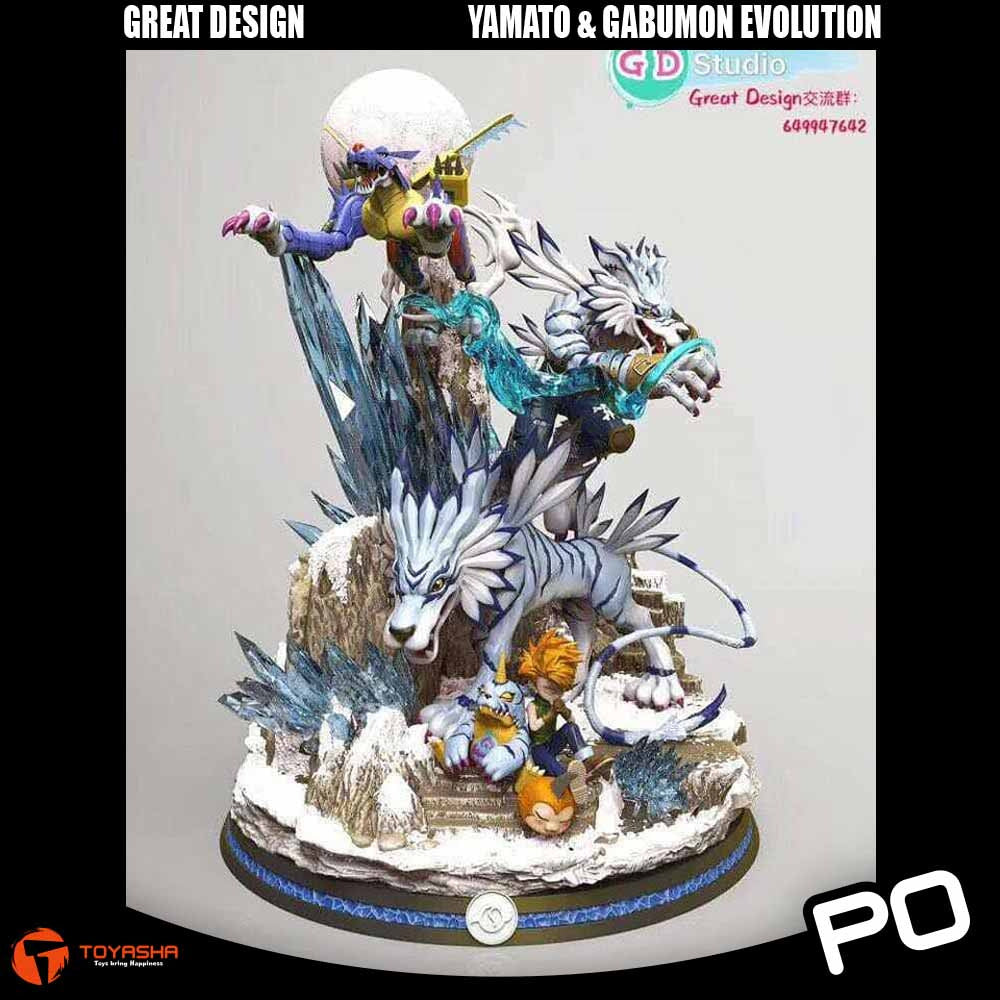 Great Design Studio - Gabumon Evolution
