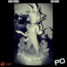 Load image into Gallery viewer, God Studio - 1/4 Scale Kid Goku