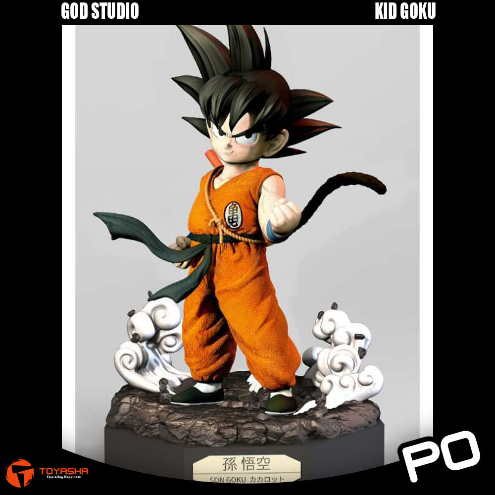 God Studio - 1/4 Scale Kid Goku