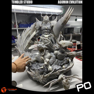 Tumbler Studio - Agumon Evolution