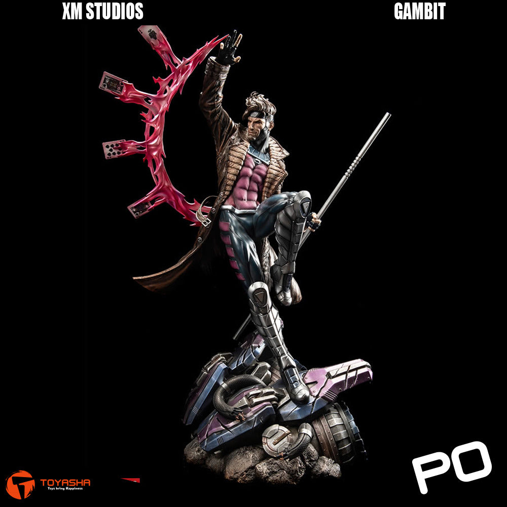 XM Studio - The Gambit Premium Collectibles statue ( Exclusive )