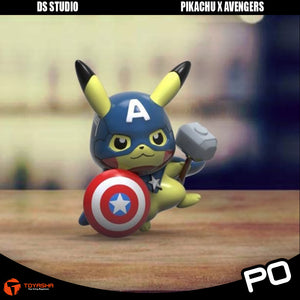 DS Studio - Pikachu Cross Avengers