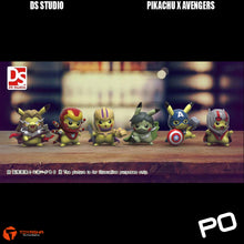 Load image into Gallery viewer, DS Studio - Pikachu Cross Avengers