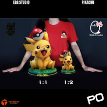 Load image into Gallery viewer, Egg Studio - Pikachu 1/2 Scale