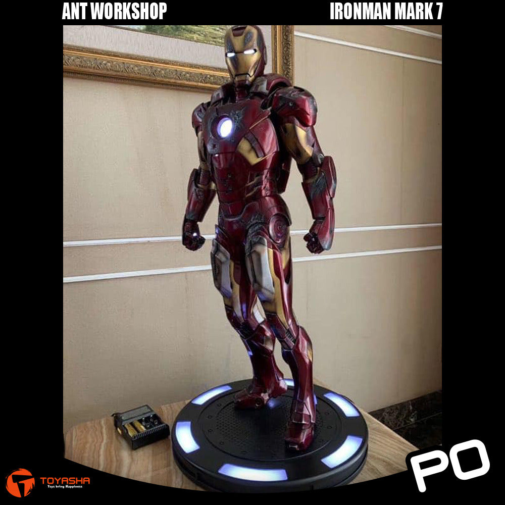 Ant Workshop Studio - 1/2 Scale Ironman Mark 7 (Damaged Version)