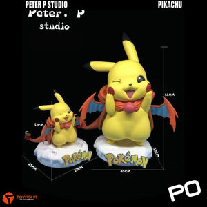 Peter P Studio - Pikachu cos Charizard 1/1 Scale Lifesize