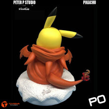 Load image into Gallery viewer, Peter P Studio - Pikachu cos Charizard 1/1 Scale Lifesize