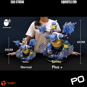 Egg Studio - Squirtle Evolution ( Plus Version )