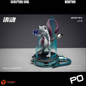 Sculpting Soul - Mewtwo