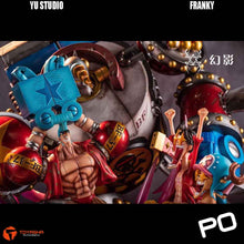 Load image into Gallery viewer, Yu Studio - Franky ( Free 1 set of Luffy and Chopper in awe )