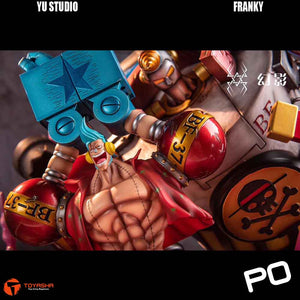 Yu Studio - Franky ( Free 1 set of Luffy and Chopper in awe )