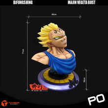 Load image into Gallery viewer, DJFungShing - Majin Vegeta Bust ( 2 Scales )