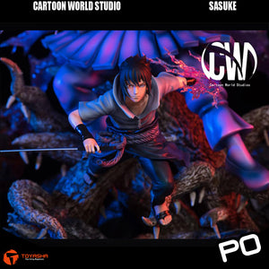 Cartoon World Studio - Uchiha Sasuke ( 2 Versions )