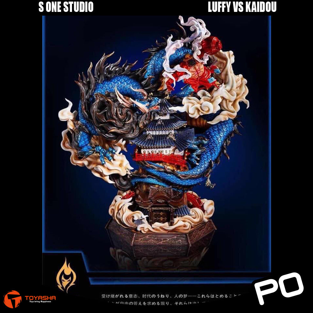 S One Studio - Luffy vs Kaido