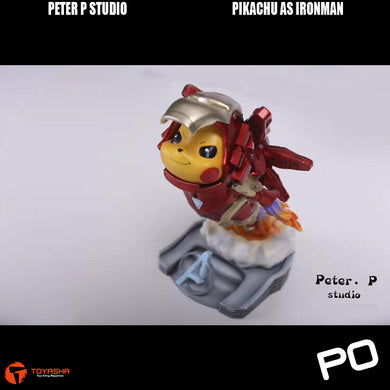 Peter P Studio - Pikachu as Ironman