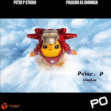Load image into Gallery viewer, Peter P Studio - Pikachu as Ironman