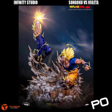 Load image into Gallery viewer, Infinity Studio - Son Goku vs Vegeta