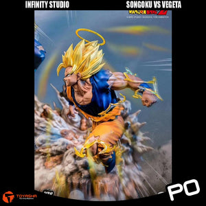 Infinity Studio - Son Goku vs Vegeta
