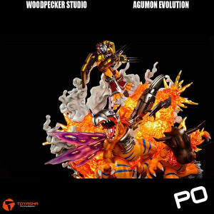 Woodpecker Studio - Agumon Evolution