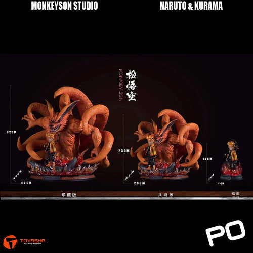 Monkey Son - Naruto & Kurama ( Three Versions )