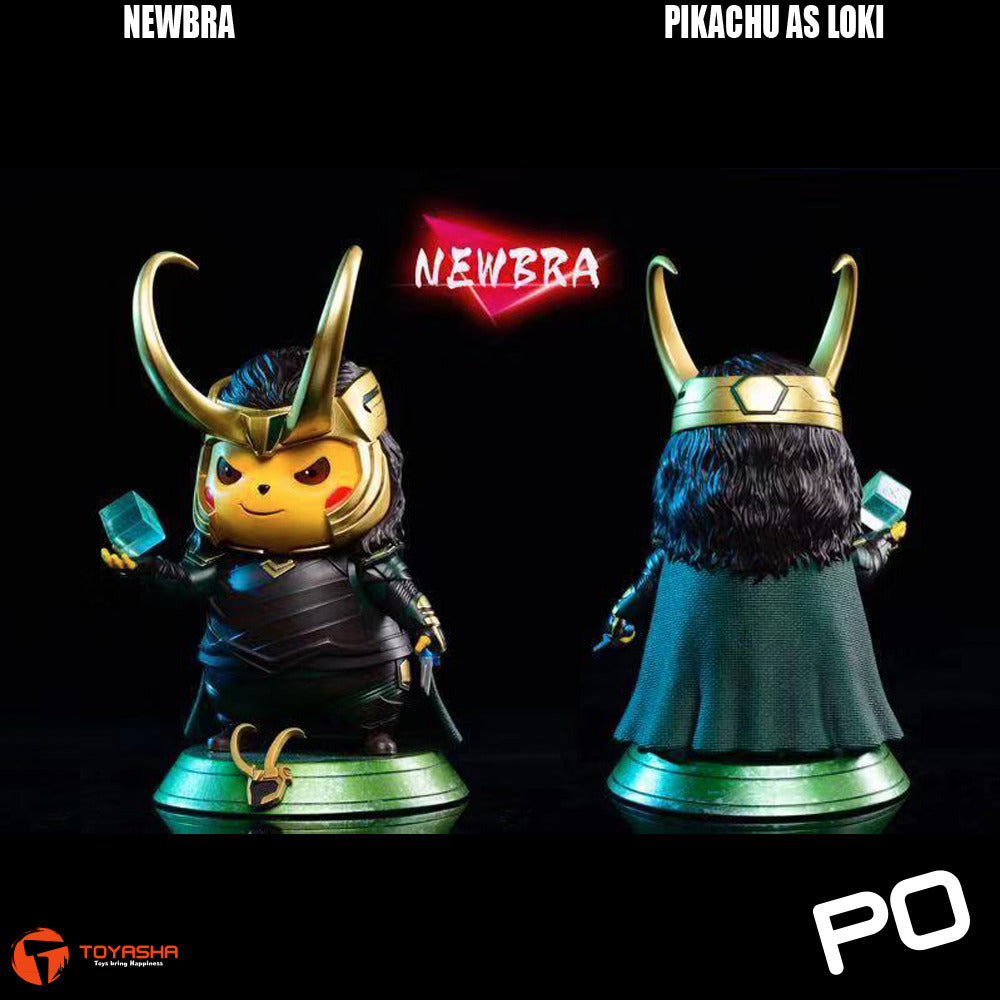 Newbra Studio - Pikachu as Loki