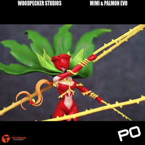 Woodpecker Studio - Mimi & Palmon Evolution