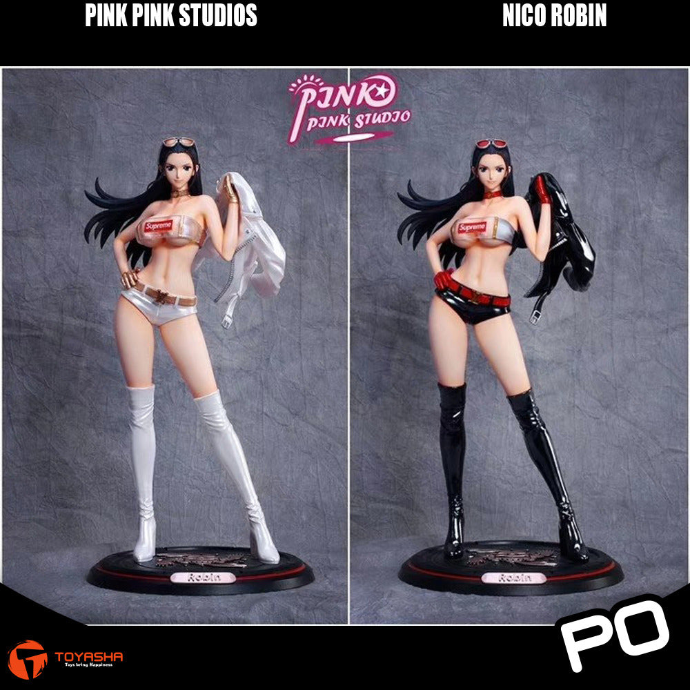 Pink Pink Studio - Nico Robin (White/Black Version)