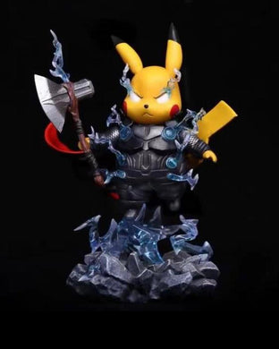 Peter.P Studio - Pikachu as Thor