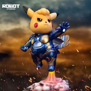 ROBOT Studio - Pikachu as Ironman (Blue Suit)