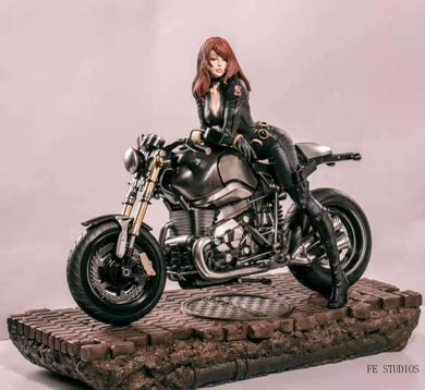 FE Studio - Agent Natasha on BMW Motorcycle