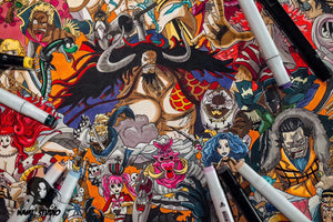 Nami Studio - One Piece Hand Drawn Artwork with more than 300 Characters