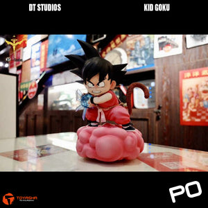 DT Studio - Son Goku (Pink Version) on Pink Cloud