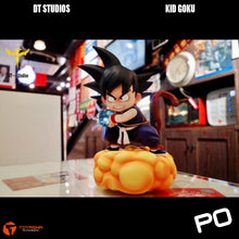 Load image into Gallery viewer, DT Studio - Son Goku (Purple Version) on Yellow Cloud