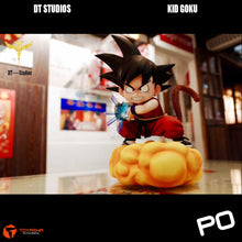 Load image into Gallery viewer, DT Studio - Son Goku (Red Version) on Yellow Cloud