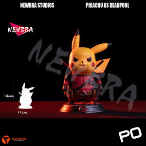 Newbra Studio - Pikachu as Deadpool, Pikapool!