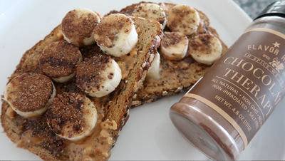 Chocolate Banana Toast