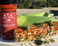 Mexican Grilled Corn with Sriracha Lime Fusion