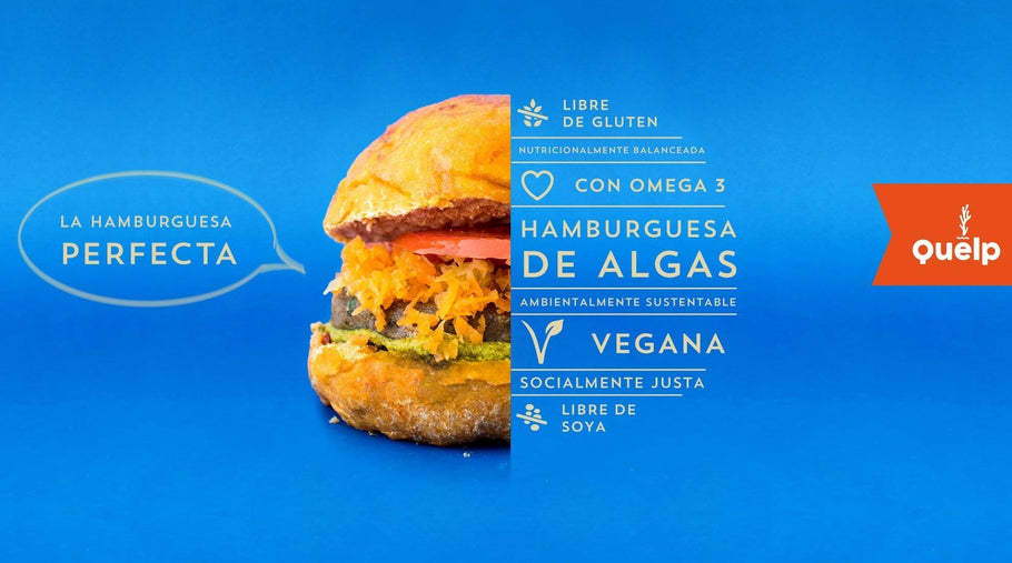 Nutrientes y beneficios en la hamburguesa de algas Quelp